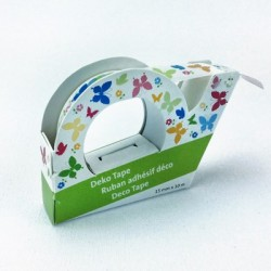 "Deco Tape ""Butterflies White"""