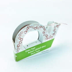 "Deco Tape ""Double Hearts"""