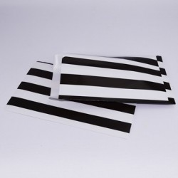 "10 Paper Bag ""Black Stripes"""