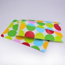 """10 Paper Bags """"Big Dots"""""""