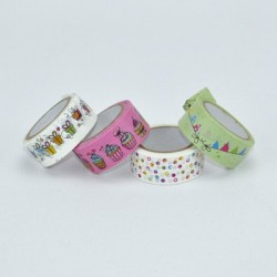 "4 Washi Tapes ""Party"""