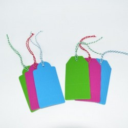6 Gift Tags in 3 Colors