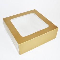 Tortenverpackung Gold 21 x...