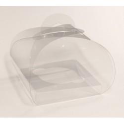 Tortina Transparent 9 cm