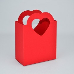 Bag with Heart-Shaped Handles