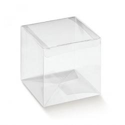 Cube Transparent 7 x 7 x 7 cm