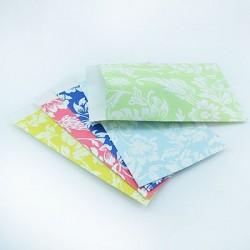 "10 Paper Bags ""Color Flowers"""