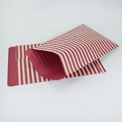 "10 Paper Bags ""Craft Red"""
