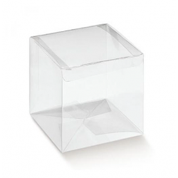 Cube Transparent 9 x 9 x 9 cm
