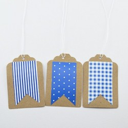 "10 Gift Tags ""Banner"""