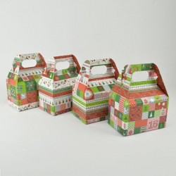 "4 Lunch Box ""Weihnachten..."