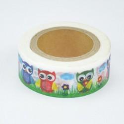 """Washi Tape """"Owls"""""""