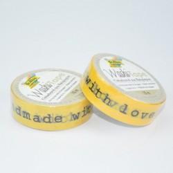 "Washi Tape ""Handmade Gelb"""
