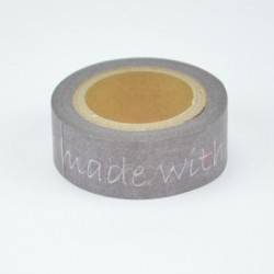 "Washi Tape ""Handmade with..."