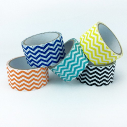 Duct Tape mit Chevron Muster