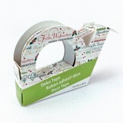 "Deco Tape ""Merry Christmas"""